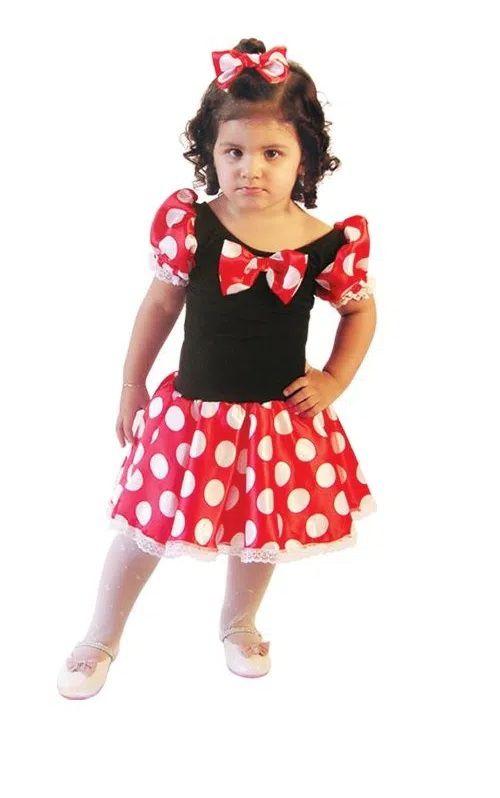 Fantasia Infantil da Ratinha Minnie - Brink Model