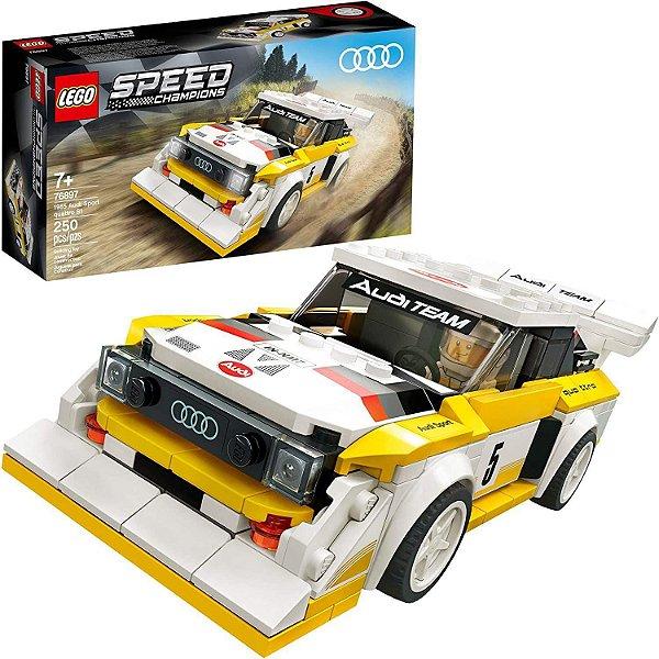Lego Speed 1985 Audi Sport Quattro S1 - 250 Peças - Lego 76897
