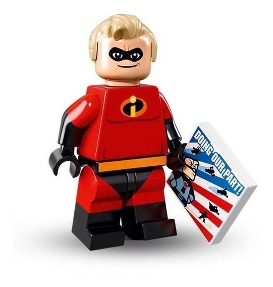 Lego Minifigura Disney n.º 13 Personagem Mr. Gold