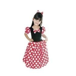 Fantasia Infantil da Ratinha longa Minnie - Brink Model
