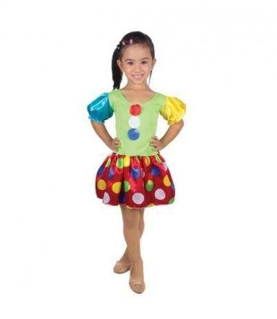 Fantasia Infantil Palhacinha - Brink Model