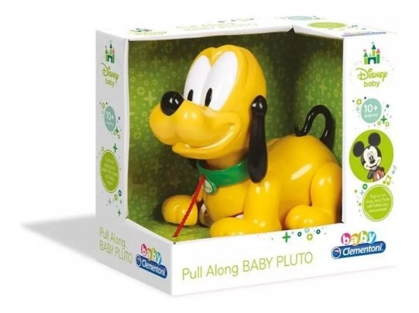 Baby Pluto - Com Cordinha de Puxar - Dican