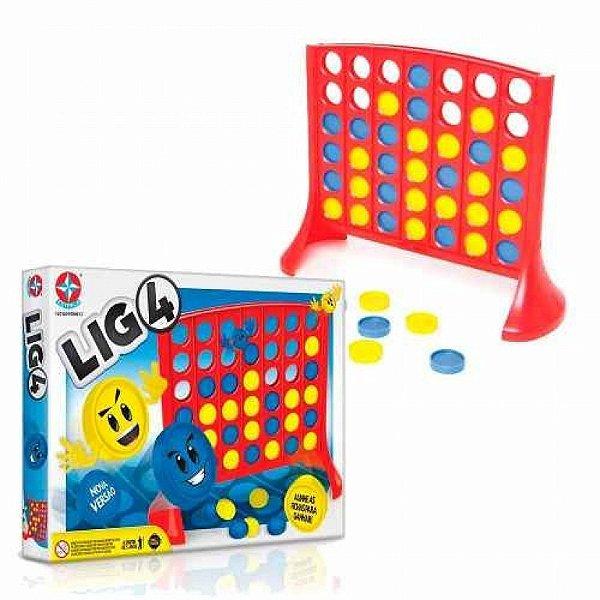 Jogo LIG 4 - Estrela - Nova Versão
