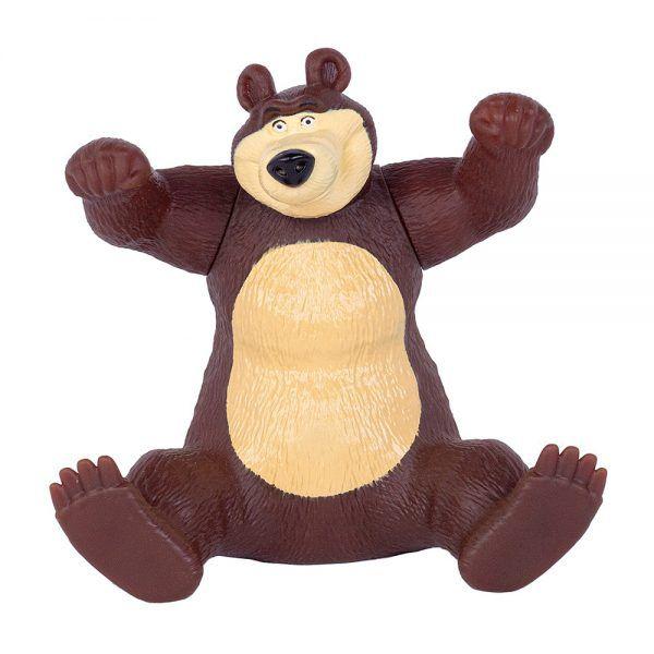 Urso em Vinil 18cm - Masha e o Urso - Cotiplas