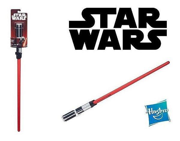 Sabre De Luz Star Wars Vermelho Hasbro
