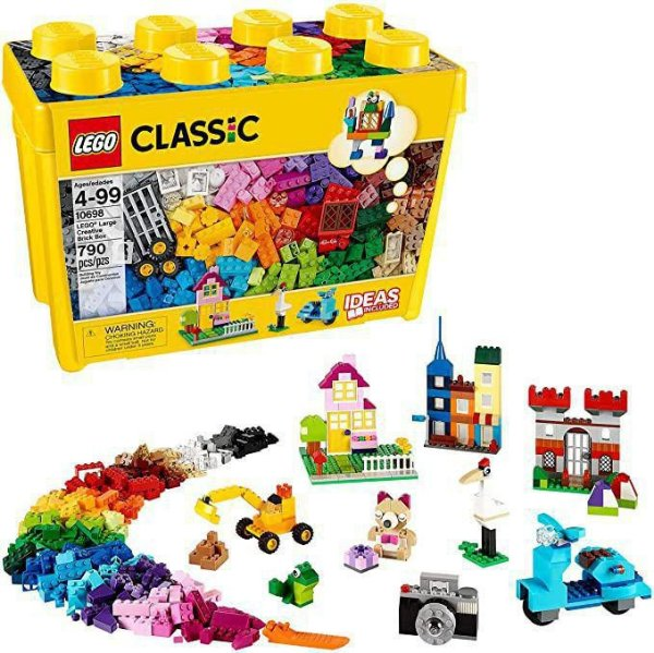 Lego Caixa Grande de pecas criativas 10698 790 peças