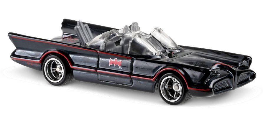 Hot Wheels Entertainment TV Series Batmobile Mattel