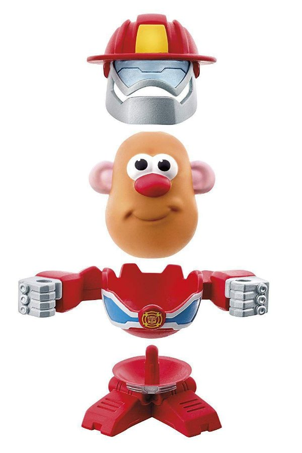 Sr. Batata Transformers Bombeiro Playskool