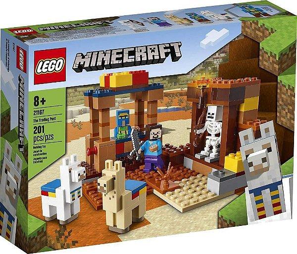 Lego 21167 Minecraft O Posto Comercial 201 peças