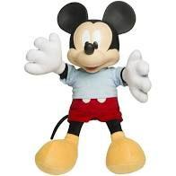 Boneco Mickey Pelúcia e Vinil Disney Baby Brink