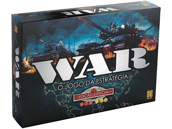 Jogo War Edição Especial o Jogo da Estratégia de Tabuleiro