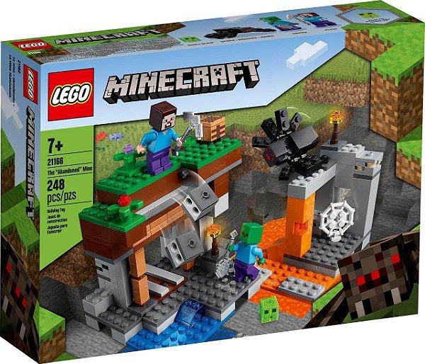 Lego Minecraft A Mina Abandonada 248 Peças LEGO 21166