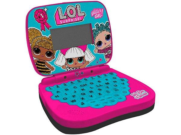 Laptop Didático Infantil LOL Surprise Bilingue