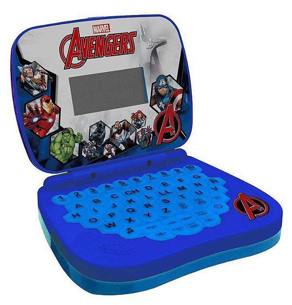 Laptop Infantil Avengers Bilíngue