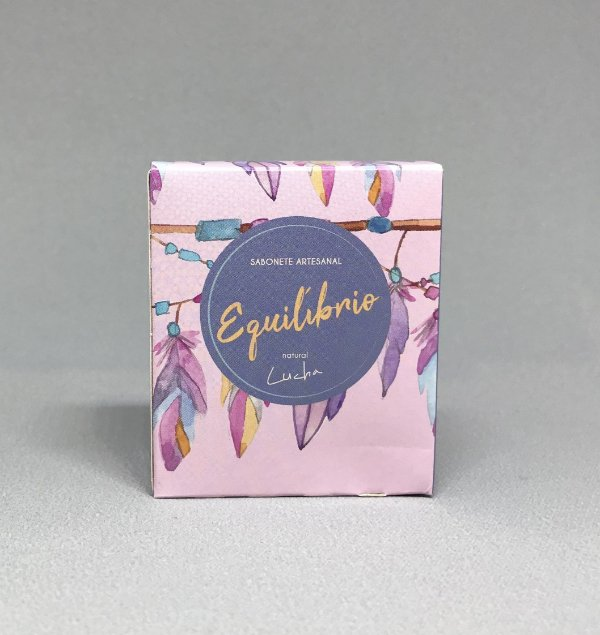 Sabonete Equilíbrio - Natural Lucha 55 Gr
