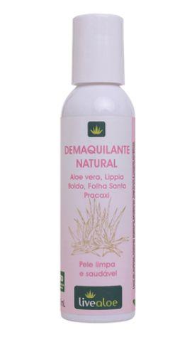 Demaquilante Natural - LiveAloe 120 ML