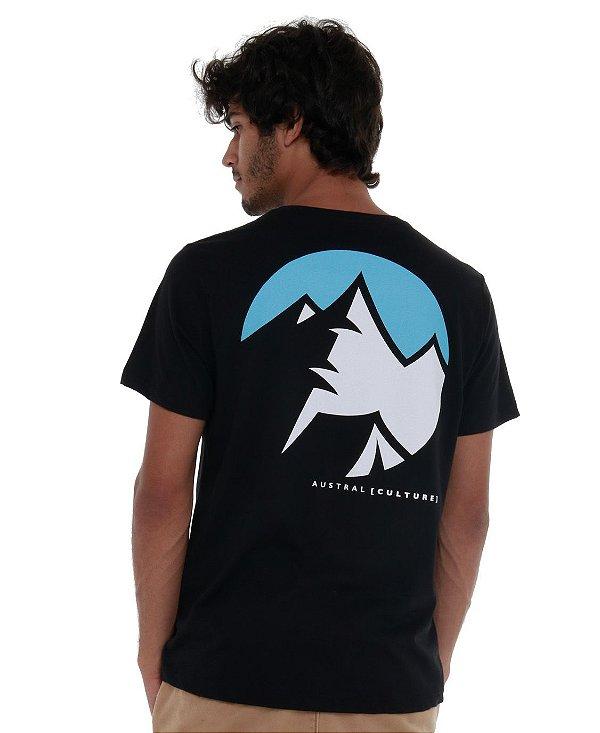 Camiseta Montanhas II Preta