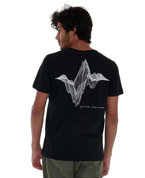Camiseta SoundWave Preta