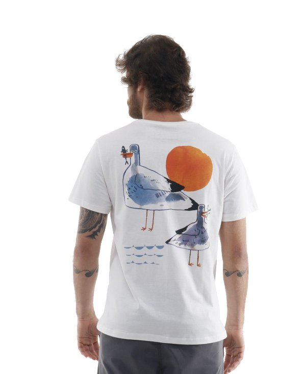 Camiseta Sunset Birds
