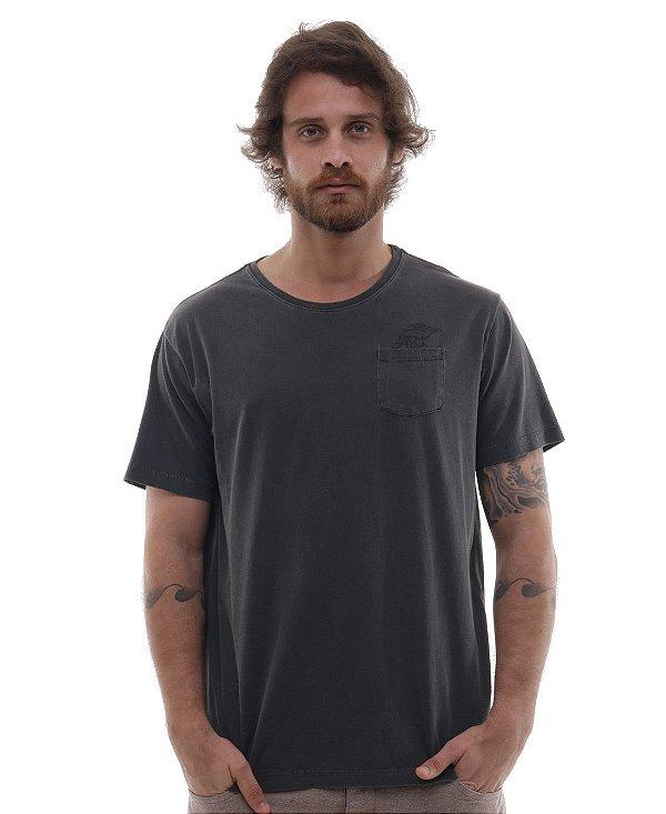 Camiseta Cascais Cinza Estonado