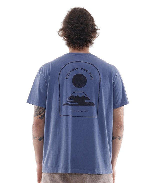Camiseta Follow The Sun Azul