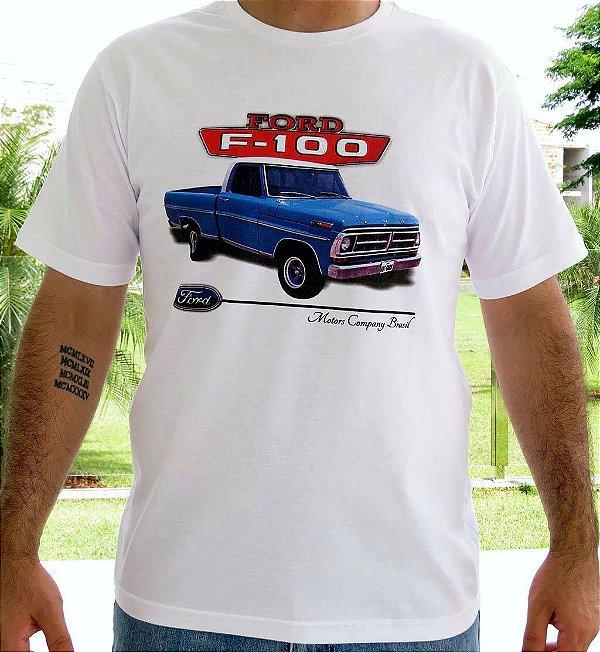 Camiseta Masculina F 100 1970 Branca