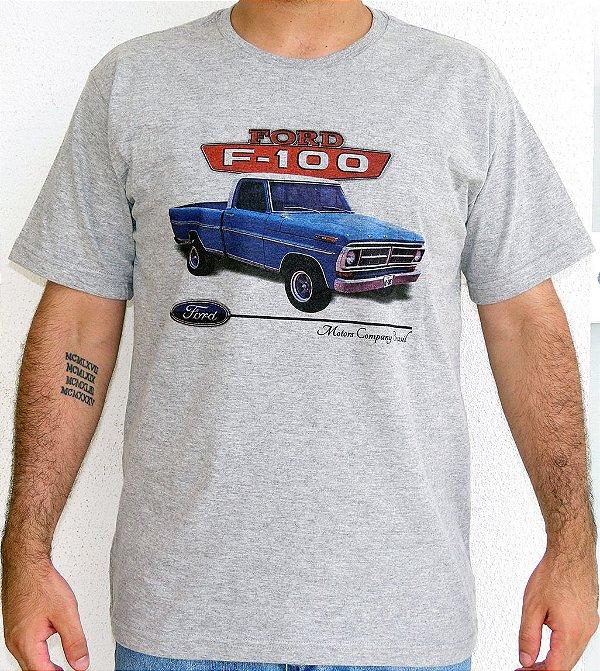 Camiseta Masculina F 100 1970 Mescla