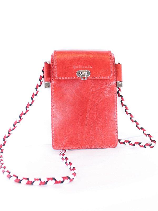 Bolsa Celular Lola Vermelha
