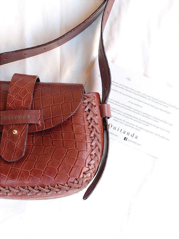 Bolsa Rose Sela com Textura