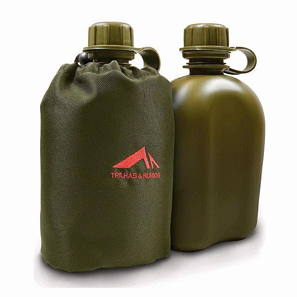 Cantil plástico com capa 900 ml