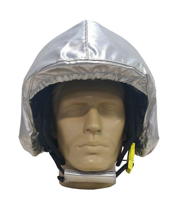 Capa metalizada para capacete MSA Gallet