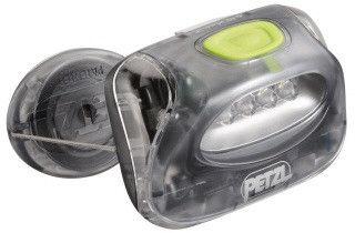 Lanterna Petzl - Zipka cinza/verde