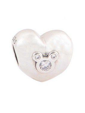 Charm Coração Mickey