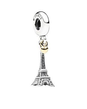 Charm Pendente Amor Torre Eiffel