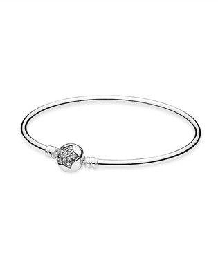 Bracelete Rígido Estrela Radiante