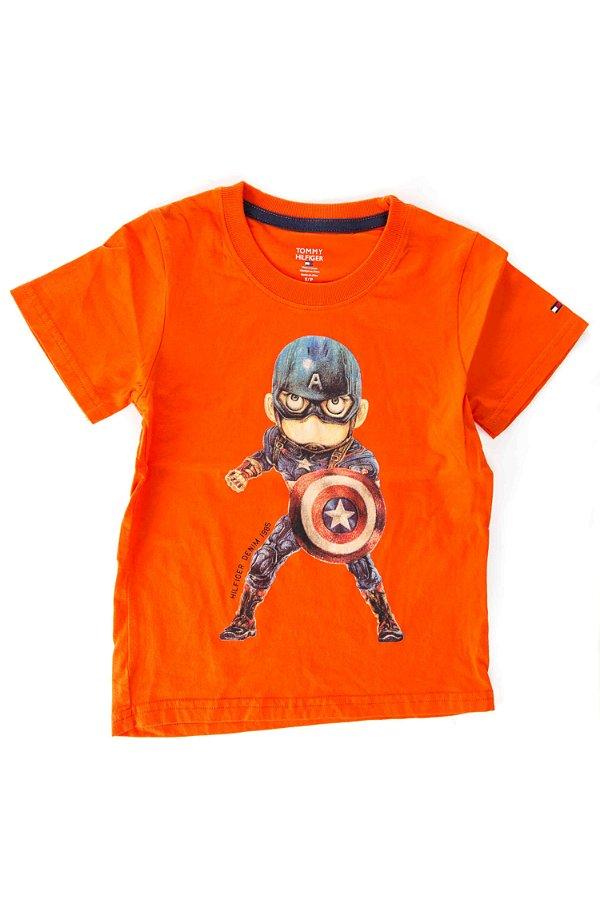 8ecdfc5d8e Camiseta Infantil Tommy Hilfiger - coquelux