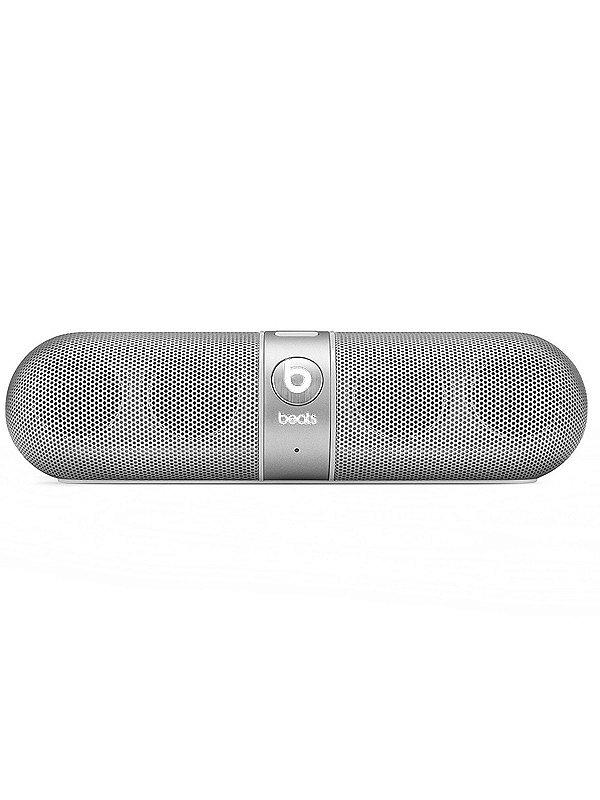 Caixa De Som Bluetooth Prata Pill Beats