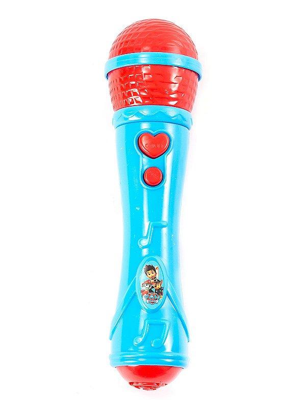 Microfone Infantil Patrulha Canina