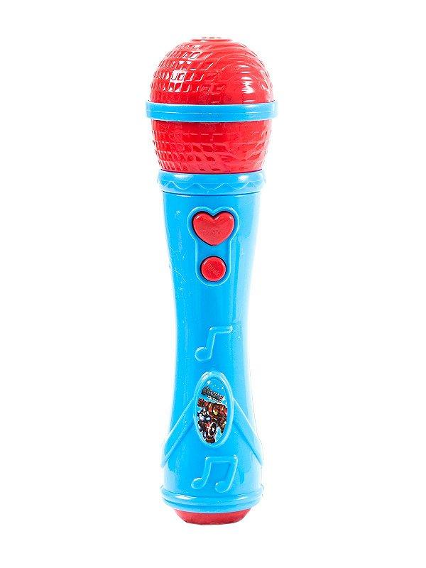 Microfone Infantil Avengers 2