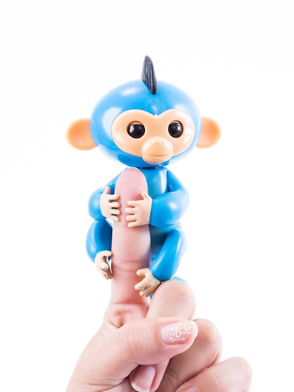 Macaquinho Fingerlings Azul