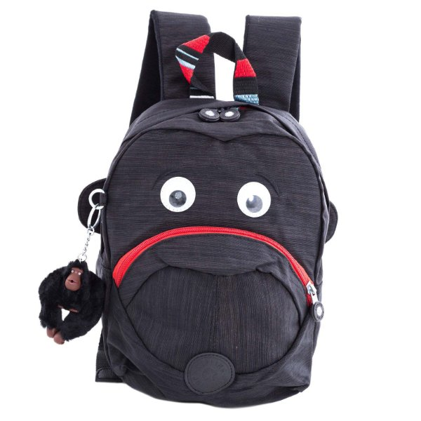 Mochila Mini Kipling Fast Small Kids Preto