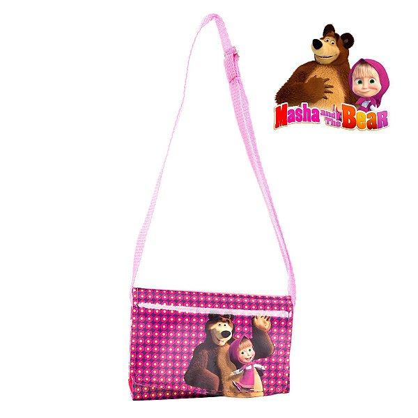 Mini Bolsa Infantil Masha e o Urso