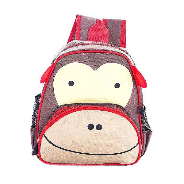 Mochila Infantil Escolar Skip Zoo Hop Bichinhos Macaco