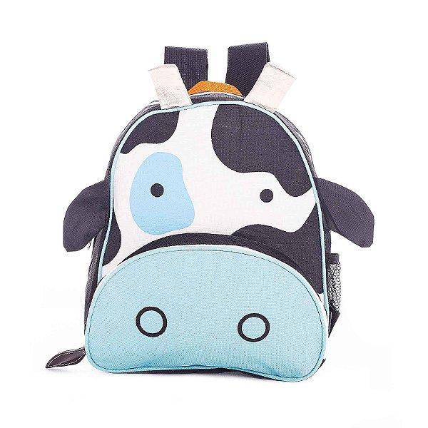 Mochila Infantil Escolar Skip Zoo Hop Bichinhos Vaca