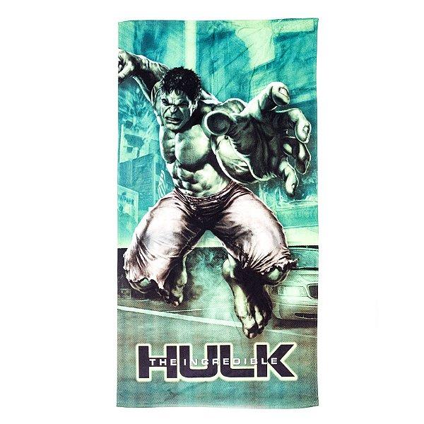 Toalha De Banho Hulk Felpuda Infantil Personagens
