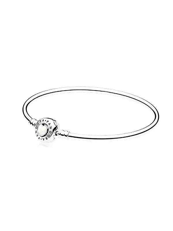 Bracelete Pandora Rígido Declaração de Amor PAND
