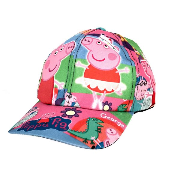 Boné Infantil Peppa Pig Personagens