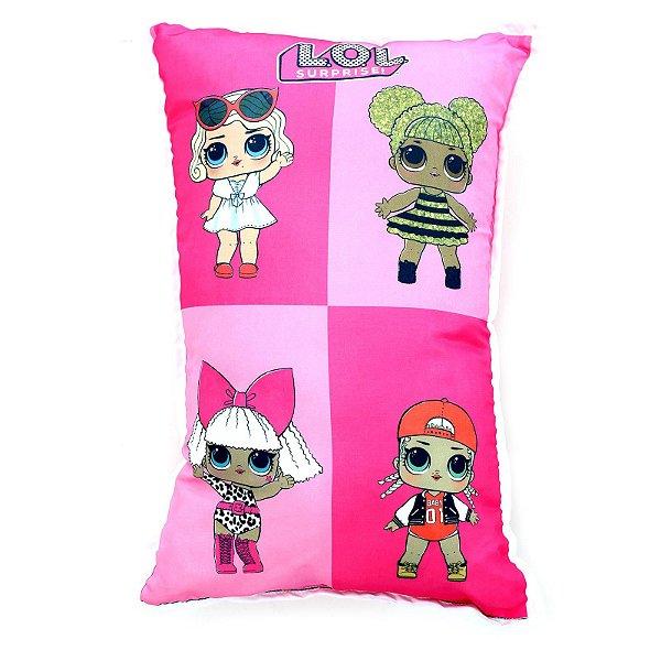 Almofada Decorativa Personalizada Infantil Lol Surprise