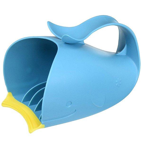 Baleia para Enxague no Banho para Bebê Azul Skip Hop