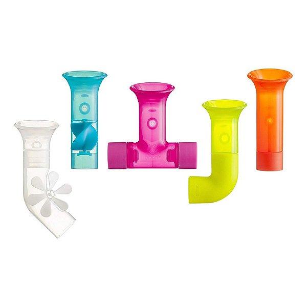Brinquedo para Banho de Bebê Tubos de Construtor Boon